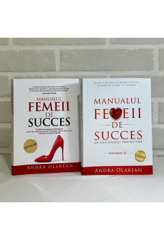 """Pachet Promoțional """"Manualul femeii de succes"""" Vol. I și Vol. II"""