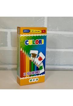 Culori - 10 fișe cartonate