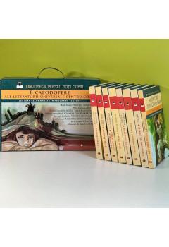 """Cutie Cadou. Colecţia """"Biblioteca pentru Toţi Copiii"""" 8 Volume"""