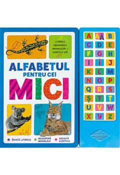 Alfabetul pentru Cei Mici. Literele, Denumirile Animalelor și Sunetele Lor (0-4 ani)