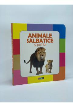 Animale Sălbatice și puii lor Prima Mea Carte cu Imagini (0-2 ani)