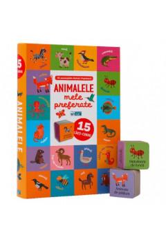 Animalele Mele Preferate. 15 Cărți-Cuburi (0-3 ani)