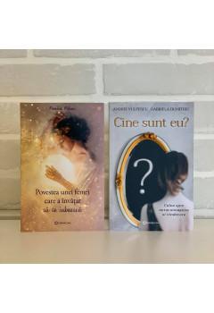 """Pachet Promoțional """"Cine sunt eu?"""" și  """"Povestea unei femei care a învățat să se iubească"""""""