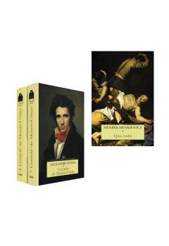 """Pachet Mari Clasici """"Quo vadis"""" și """"Contele de Monte-Cristo vol 1+ vol 2"""""""