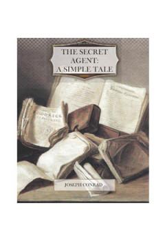 The Secret Agent: A Simple Tale [eBook]