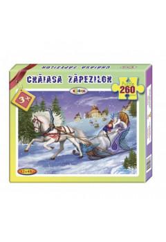 Puzzle Crăiasa Zăpezilor 260ps