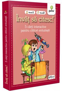 Colecția Învăț să citesc! Nivelul 1, Nivelul 2 - Cinci cărți interactive (II)