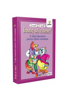 Colecția Învăț să citesc! Nivelul 1, Nivelul 2 - Cinci cărți interactive (I)