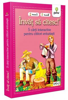 Colecția Învăț să citesc! Nivelul 1, Nivelul 2 - Cinci cărți interactive (III)