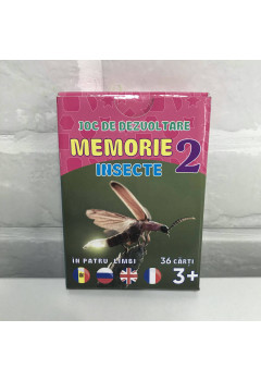 Joc de memorie. Insecte 2