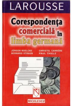 Corespondența comercială în limba germană