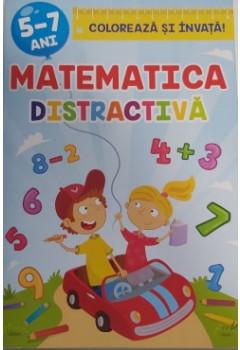 Colorează și învață Matematica distractivă 5-7 ani