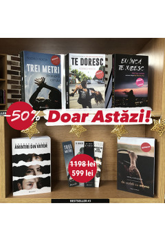 Pachet Promoțional: 5 cărți Bestseller la preț de doar 2!