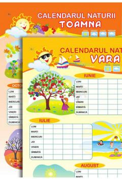 Planșă. Calendarul naturii. Vara + Toamna