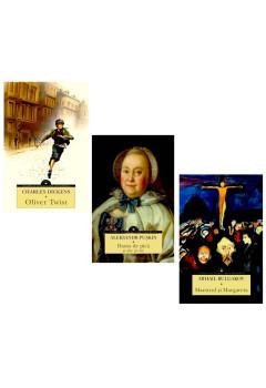 """Pachet Mari Clasici """"Dama de pică"""", """"Oliver Twist"""" și """"Maestrul și Margareta"""""""