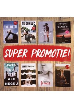 Setul de 8 cărți Bestseller cu Livrare Gratis în Moldova