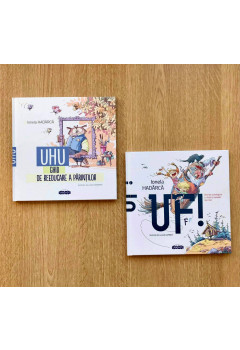 """Pachet Promoțional de la Ionela Hadârcă """"UF! și UHU!"""""""