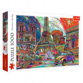"""TF Puzzle - """"1000"""" - """"Colours of Paris"""""""