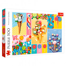 """TF Puzzle """"500"""" - """"Favorite sweets"""""""