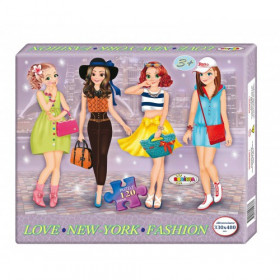 Puzzle New-York Fashion 120ps