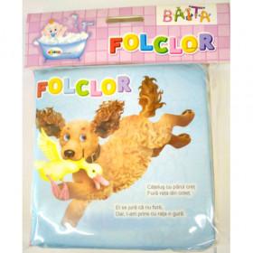 Carte pentru baie - Folclor Vârsta 0+