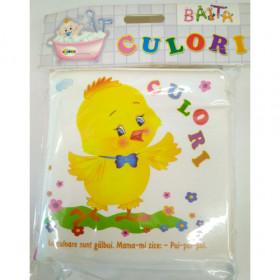 Carte pentru baie - Culori Vârsta 0+