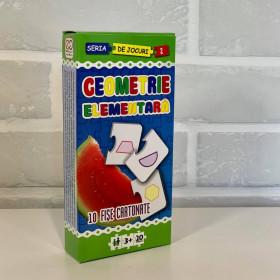 Geometrie Elementară - 10 fișe cartonate