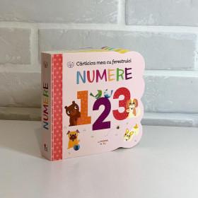 Carticica mea cu ferestruici. Numere 123