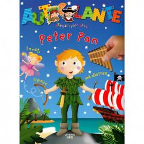 Autocolante repeziționabile. Peter Pan