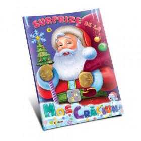 Marea carte de colorat. Surprize de la Moș Crăciun