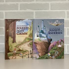 """Pachet Promoțional """"Cele mai frumoase povești de H. C. Anderson și Frații Grim"""""""