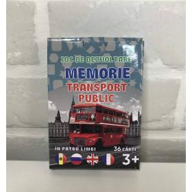 Joc de memorie. Transport public