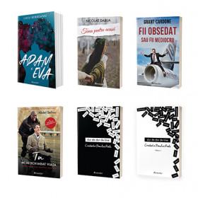 Pachet Promoțional cu 6 cărți noi Bestseller