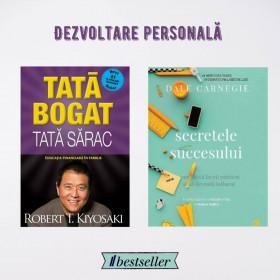 Pachet Secretele Succesului + Tată Bogat, Tată Sărac