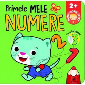 Primele mele Numere cu autocolante. Sunt copil isteț 2+