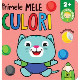 Primele mele Culori cu autocolante. Sunt copil isteț 2+