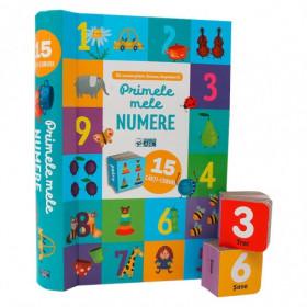 Primele Mele Numere. 15 Cărți-Cuburi (0-3 ani)
