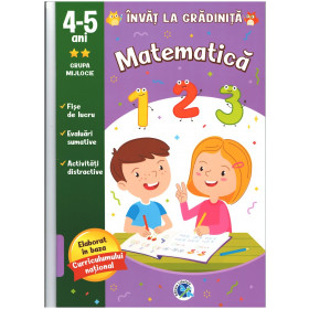Matematica 4-5 ani, grupa mijlocie
