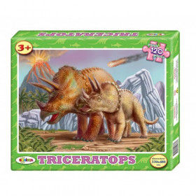 Puzzle Triceratops 120 ps