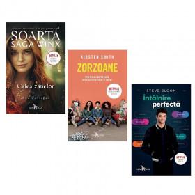 """Pachet Promoțional """"Întalnirea perfectă"""", """"Zorzoane"""" și """"Saga Winx. Calea zânelor"""""""