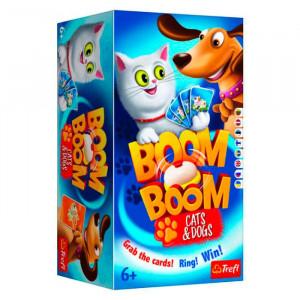 Boom-boom pisici cu cățeluși