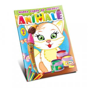 Marea carte de colorat. Animale vol.2