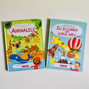 Colecția Marea Mea Carte de Întrebări și Răspunsuri. Eu și Lumea din Jurul Meu și Animalele (1-5 ani)