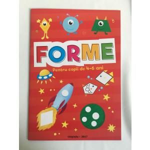 Forme Pentru copii de 4-6 ani