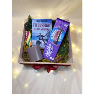 "Bestseller Gift Box ""Fii obsedat sau fii mediocru"""