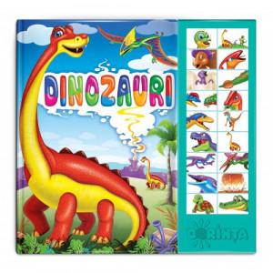 Carte cu sunete. Dinozauri