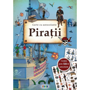 Pirații. Carte cu autocolante
