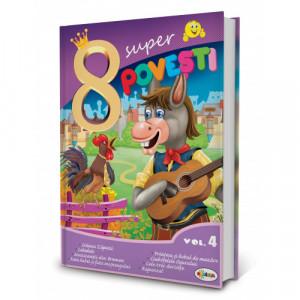 8 Super Povești, vol. 4 Muzicanții din Bremen