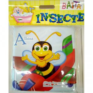 Carte pentru baie - Insecte Vârsta 0+