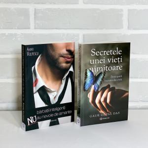"""Pachet Promoțional """"Bărbații inteligenți NU au nevoie de amante"""" și """"Secretele unei vieți uimitoare"""""""